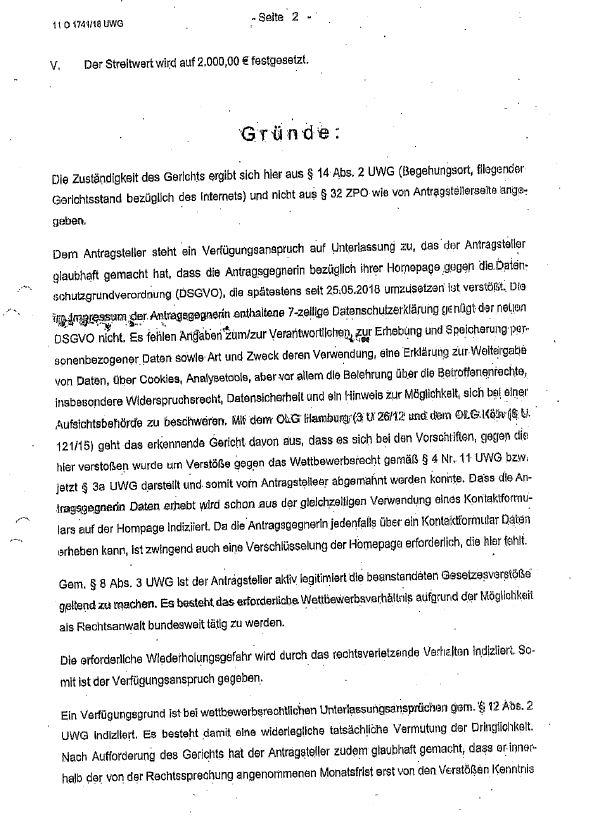 LG Würzburg 2